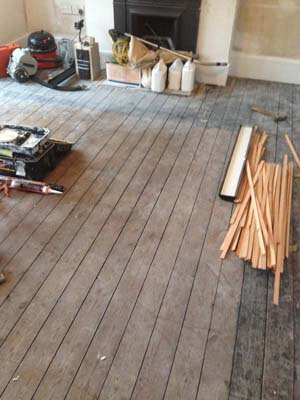 wooden floor restoration London